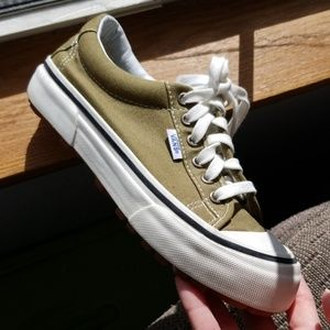 Van's Olive Shoes UltraCush